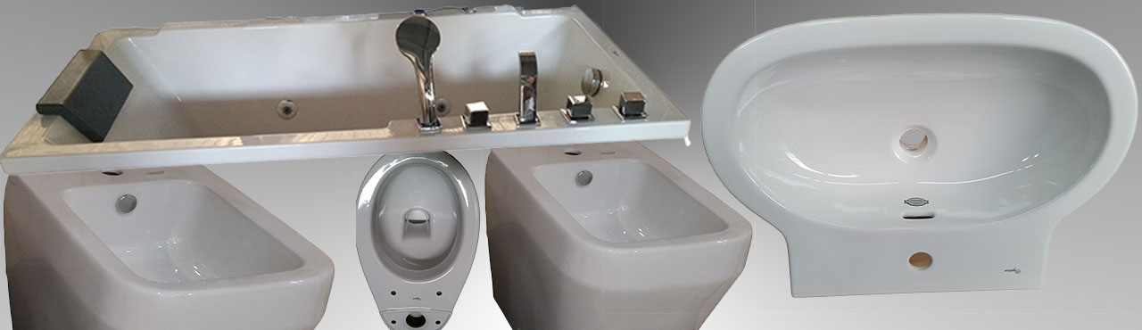 Bath tops, Bidet, WC and Washbasin
